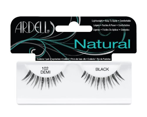 Ardell Fashion Lashes Pair - 102 Demi Black (Pack of 4)