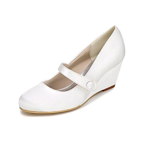 Color L'Hiver Multi L De avec D'automne Chaussures Ronde Mariage YC Glissent Des white Cravate Femmes 9140 Personnalisé 03 qnnwSZaHOx