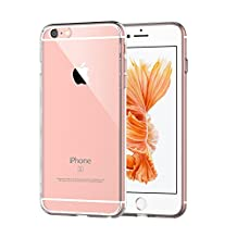VersionTech Premium Ultra Thin Shock-Absorption Bumper Cover Clear Case for iPhone 6s iPhone 6 4.7 Inch - Crystal Clear