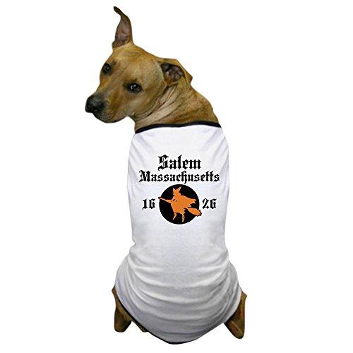 CafePress - Salem Massachusetts Dog T-Shirt - Dog T-Shirt, Pet Clothing, Funny Dog Costume (Salem Costume)