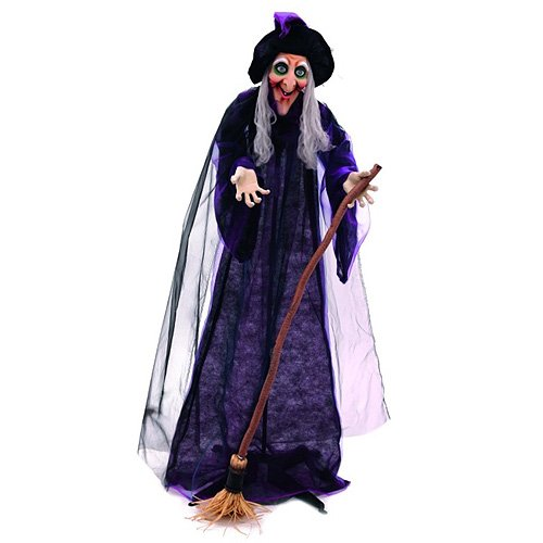 Europalms Europlams Halloween Witch Animated, Multicolour -