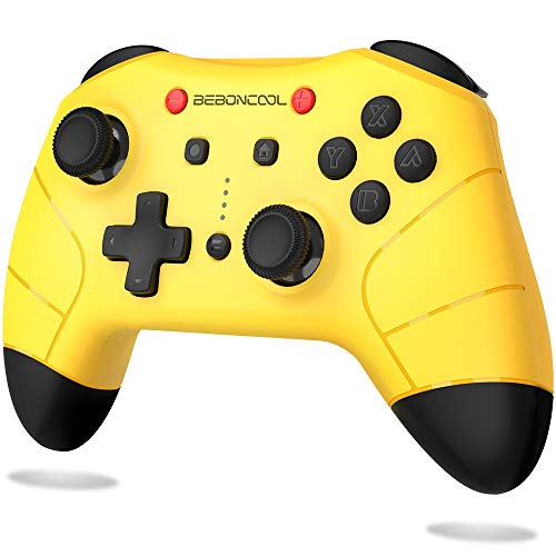 BEBONCOOL Switch Controller for Nintendo Switch/Switch Lite, Wireless Pro Controller Switch Supports Turbo & Adjustable Dual Shock Function-Switch Pro Controller Compatible with Bluetooth