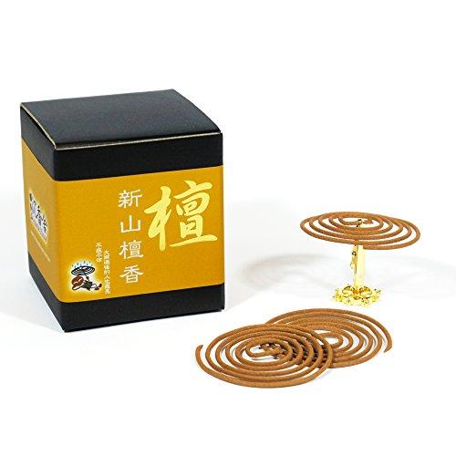 ShinShan Sandalwood Incense Coils 3 5hrs product image