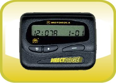Motorola Express Extra Numeric Pager with 12 Months of Directpage Paging Service - Pagers Motorola
