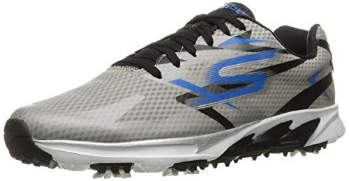 Skechers Performance Men's Go Golf Blade Golf Shoe,White/Charcoal,8.5 M US
