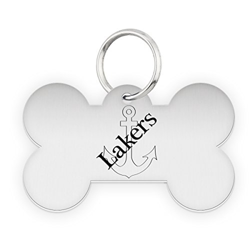 Lake Superior State Lakers Dog Tag | Pet Tag | Dog Collar | Necklace | College Pet Tags by College Jewelry