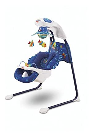 Fisher-Price Ocean Wonders Aquarium Cradle Swing (Discontinued by Manufacturer)