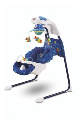 amazon com fisher price ocean wonders aquarium cradle swing rh amazon com Fisher-Price Baby Swings Walmart Fisher-Price Starlight Cradle Swing