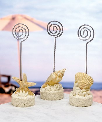 Sea Shell Placecard Holders Beach Themed (24)