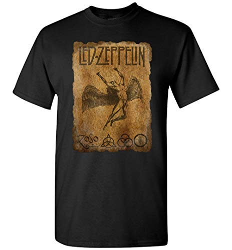 LED ZEPPELIN T-SHIRT Rock Music Legends Vintage Distressed Unisex T-Shirts for Men and Women