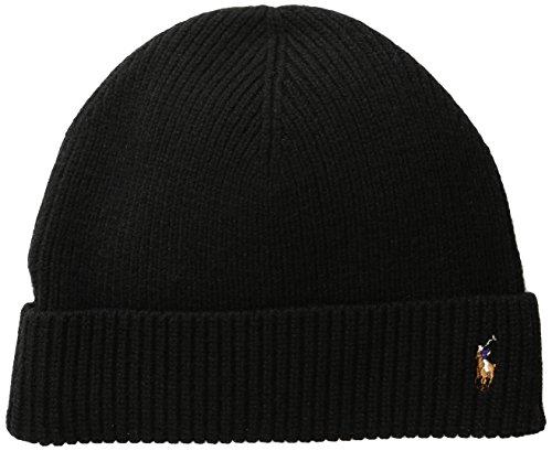polo-signature-merino-cuff-winter-beanie-black-0