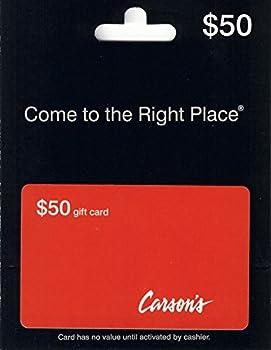 $50 Bonton Carson's Gift Card