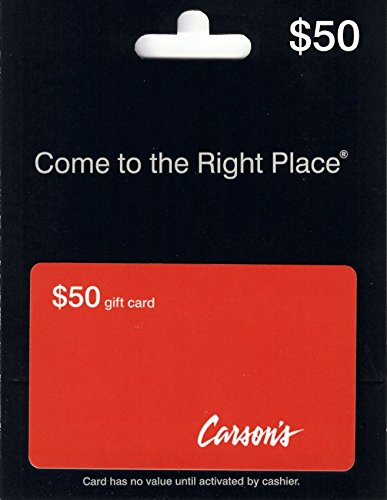 Bonton Carsons  50 Gift Card