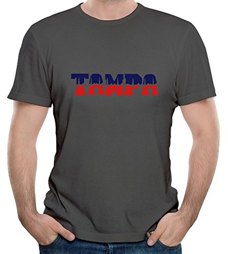 KaLiSSer Custom Tampa T Shirts For Men Design Your Own Personalized Tee Shirt