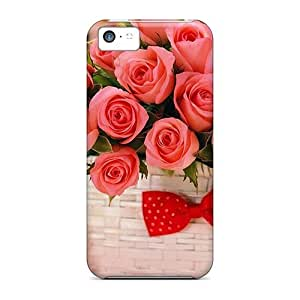 Anti-scratch And Shatterproof Gift For Valentines Phone Case For Iphone 5c/ High Quality Tpu Case
