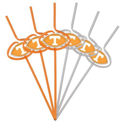 (NCAA Tennessee Volunteers Six Pack Team Sip Sport Straws)