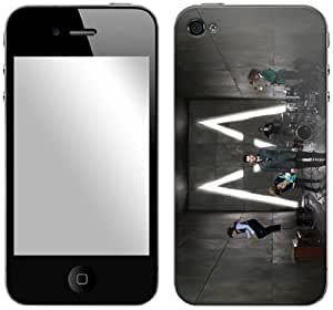 Zing Revolution Maroon 5 Premium Vinyl Adhesive Skin for iPhone 4/4S, Soon (MS-M510133)