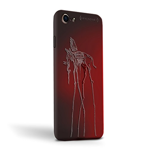 Les Elephants Dali - Luxendary Stylish, Fun, Creative, Design Oriented Cell Phone Case for iPhone 8/7 - Salvador Dali Elephant - Magma (Color Shifter)