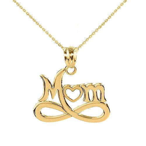 10k Gold Designer Heart Pendant - 5