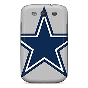Anti-scratch And Shatterproof Dallas Cowboys Phone Case For Galaxy S3/ High Quality Tpu Case