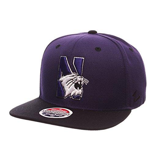 - Zephyr NCAA Northwestern Wildcats Men's Z11 Snapback Hat, Adjustable Size, Team Color