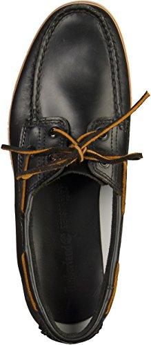 Barco de encaje zapatos Timberland CA1BHT Tidelands 2 Ojo Negro Negro Brando Negro-Marrón