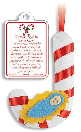 Story of the Candy Cane with Infant Jesus Christ 5