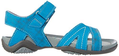 Superfit SuperfitNancy - Sandalias de Punta Descubierta Niñas Azul (Türkis)