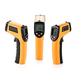 California Sugar Non Contact Laser Lcd Display Digital Ir Infrared Thermometer Temperature Meter Gun 50 ℃ To 330 ℃