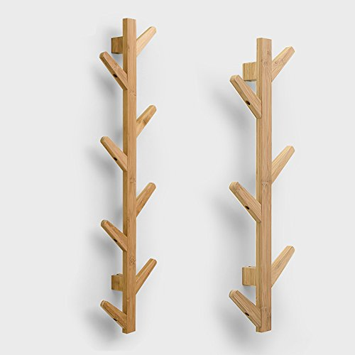 Creative Hooks/Wooden Hook/Wall-mounted Coat Rack/Wall Hangers-L by LWZY Clothes hook