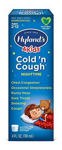 Kids Cold and Cough Relief by Hyland's 4Kids, -