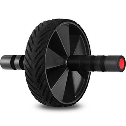 Ab Wheel & Roller- Core & Abdominal Trainer -...