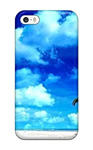 New DanMarin Super Strong The Lone Palm Tree Tpu Case Cover For Iphone 5/5s