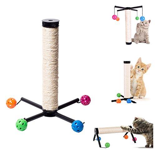 XIYAO Cat Pet Wall Corner Scratching Scratch Board Mat Post Scratcher Sisal Rope