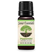 Sanar Essentials Peppermint Essential Oil - Menthe Arvensis - 15 mL - Therapeutic Grade