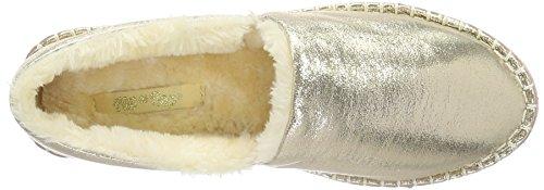 flip*flop Flippadrilla Shiny, Mocasines para Mujer Dorado - Gold (Pale Gold 913)