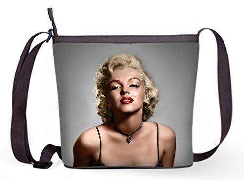 Bag Monro Bag Fashion Marilyn Marilyn Theme with Bag and Casual Crossbody Bag01 Sling Popular Female Monroe Sling Shoulder xAwqz7AXr
