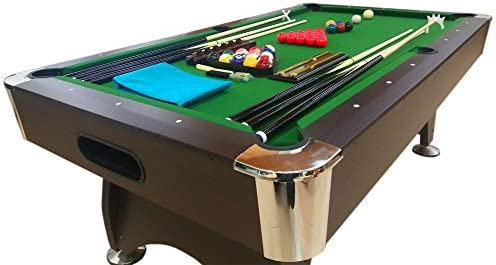 Mesa de billar juegos de billar pool 7 ft GREEN SEASON FULL ...