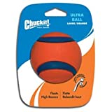 Chuckit! Large Ultra Ball 3-Inch, 1-Pack, My Pet Supplies