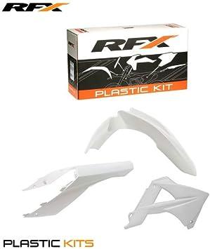 RFX fxpk 6080055wh gasgas mc-ec125–200–250–300–45011fsr25011–13Kit de plástico gasgas mc-ec125–200–250–300–45011fsr25011–13, color azul