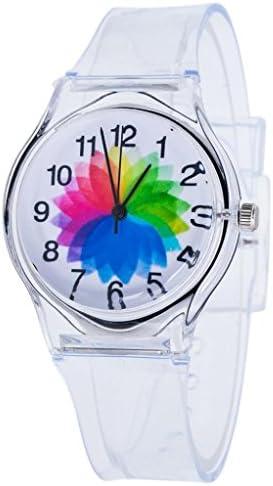 Child Watch,BCDshop Kids Children Lovely Quartz Wrist Watches Boys Girls Transparent Watch Adjustable