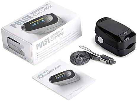 Haofy Oxímetro de Pulso, Pulsioxímetro de Dedo Monitor de Frecuencia Cardíaca y la Saturación de Oxígeno en la Sangre con Pantalla OLED, Aprobado por la FDA y la CE 11