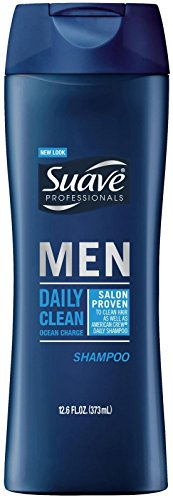 Suave Professionals Mens Shampoo, Daily Clean Ocean Charge, 12.6 oz