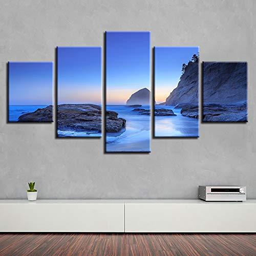 Dormitorio Decoración de Arte en la Pared Imágenes 5 Piezas ...