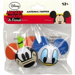 Disney Car Antenna Ball Toppers (Goofy & Donald Duck)