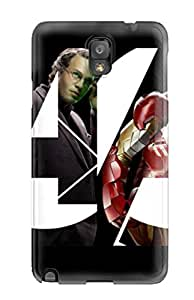 Top Quality Rugged Super Heroes In Avengers Case Cover For Galaxy Note 3