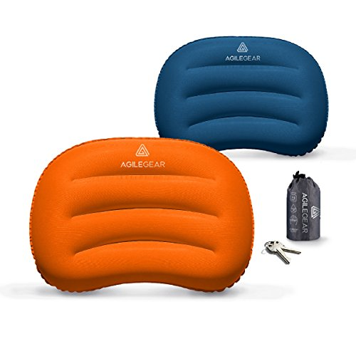 Agile Gear Camp Pillow Inflatable Ultralight Camping And