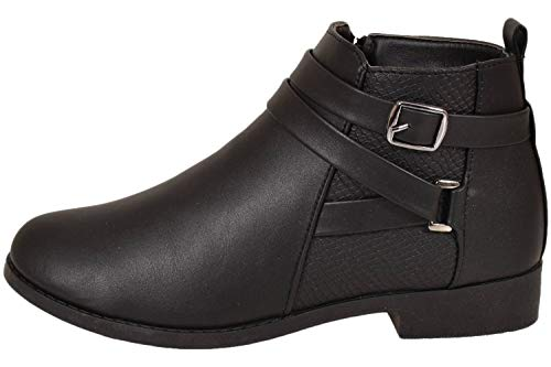 Shoes Ls0328 By Femme Chaussons Black Emma Montants WZf8qOxWdw