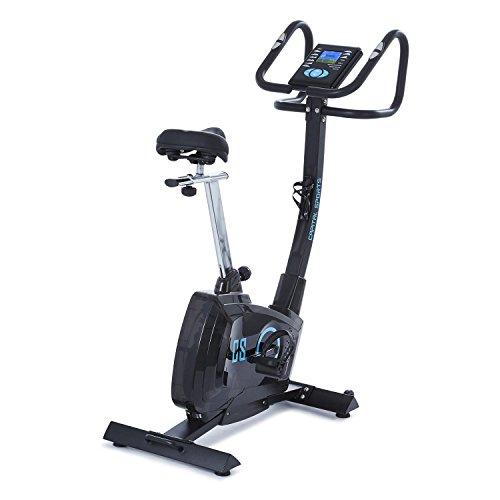 🥇 CapitalSports Durate Bicicleta estática Profesional – Resistencia magnética Ajustable- Masa giratoria 9 kg
