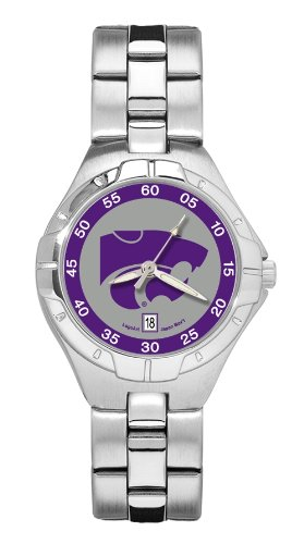 Kansas State Pro II Women's Stainless Steel Watch - Kansas State Wildcats Watch